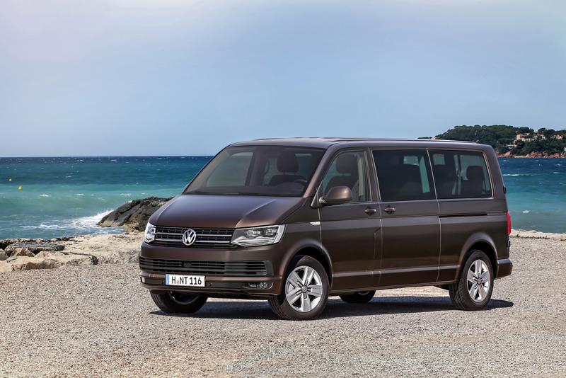 Volkswagen Caravelle, Multivan y Transporter